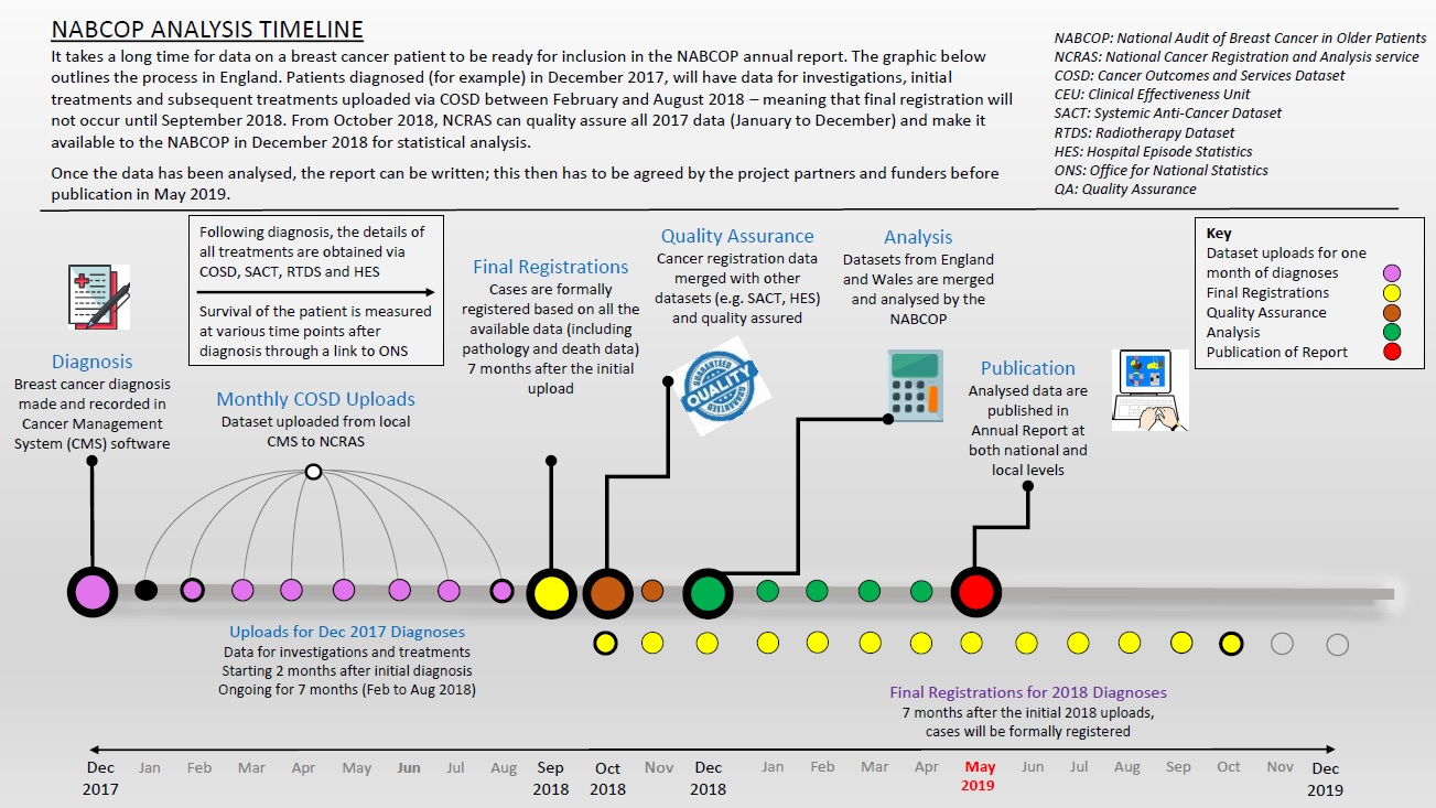 NABCOP Analysis Timeline for the English dataset - National